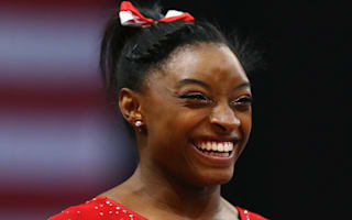 Biles hits the heights early on in Rio