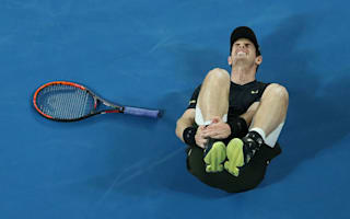 Ankle injury threatens to overshadow end of comfortable Murray win