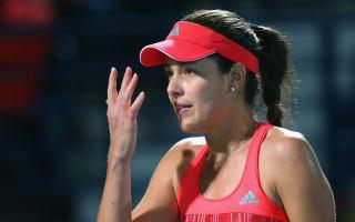 Strycova upsets Ivanovic in Dubai, Garcia books semi-final spot