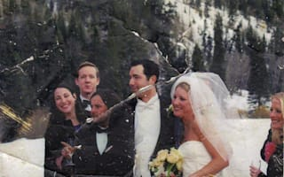 Couple whose wedding photo were found in 9/11 rubble located after 13 years