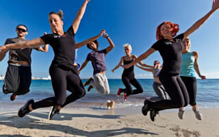 Call this a holiday? Barmy bootcamps for fitness freaks