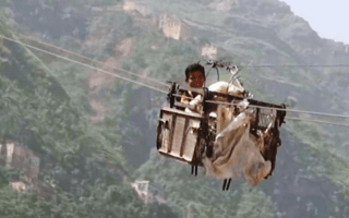This is the world's scariest chairlift