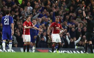 Mourinho bemoans 'bad luck' at referee Oliver's hands