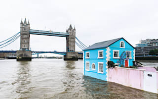 A floating house on the Thames is as magical as you imagined