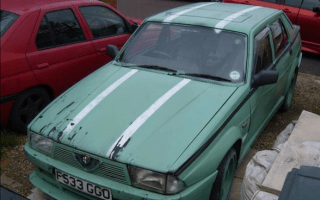 Clarkson's Alfa Romeo 75 up for sale