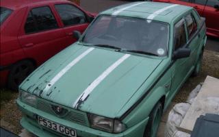 Clarkson's Alfa Romeo 75 up for sale