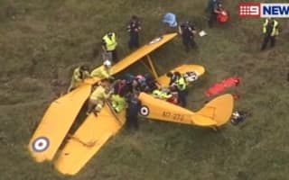 Famous pilot hurt in fatal Gold Coast plane crash