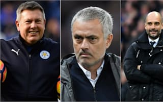 Leicester's Shakespeare aiming to match Mourinho & Guardiola