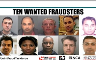 Fraudster 'most wanted' list released by taskforce