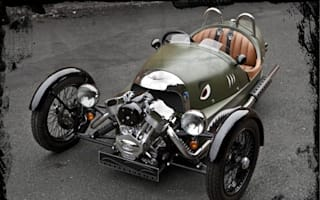 Morgan's crazy new Threewheeler to cost £30,000