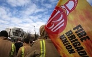 Pensions row firefighters balloted