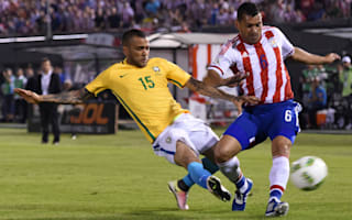 Paraguay 2 Brazil 2: Alves nets last-gasp equaliser in dramatic draw