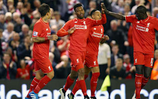 Liverpool 4 Everton 0: Milner stars, Sturridge reaches landmark in derby rout