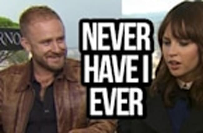 Inferno Cast Plays Never Have I Ever (Felicty Jones, Ron Howard, Ben Foster)