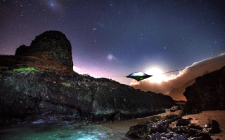Introducing incredible floating UFO-style tents
