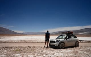 MINI Road Trip Day Seven: The salt plains of the Andes