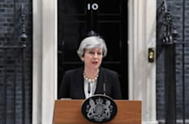 May condemns 'sickening cowardice' of Manchester attack