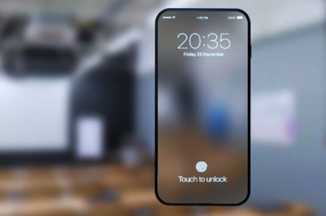 Apple registra una patente de pantalla microLED que lee tu huella en todo el panel