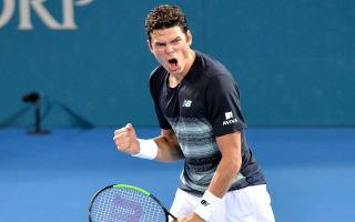 Raonic reaches Brisbane semis with comeback win over Nadal