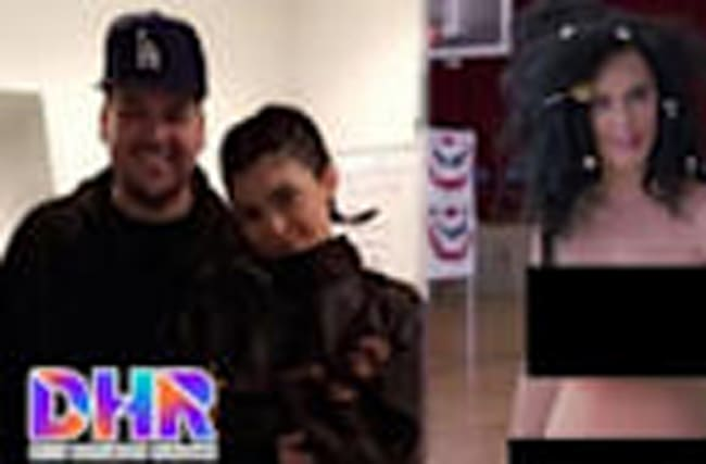 Rob Kardashian FEUDS With Kylie - Katy Perry Goes Voting NAKED (DHR)