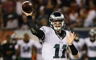 Wentz sharp again as Eagles cruise past Bears