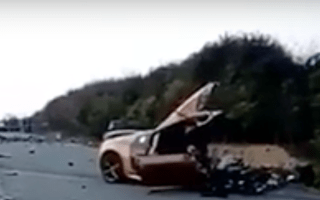 Chinese Audi driver dies in crash after reaching 200mph