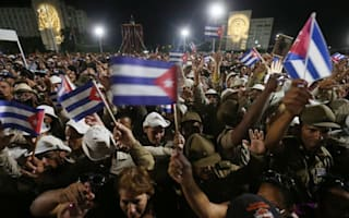 World leaders have honoured Fidel Castro at Havana rally
