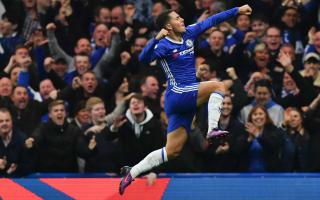 Hazard eyes Ballon d'Or as he enjoys freedom under Conte
