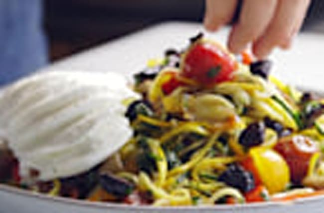 This Raw Ratatouille Will Be Your New Spiralized Staple