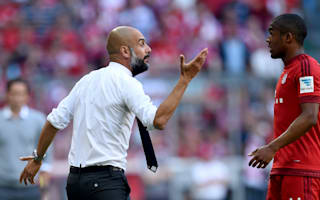 Guardiola not allowed to sign Bayern players - Douglas Costa