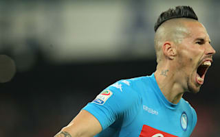 Napoli held by Lazio as Keita cancels out Hamsik opener