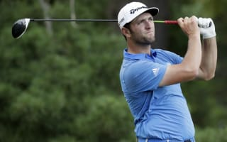 Rahm, Hurley share lead at Congressional