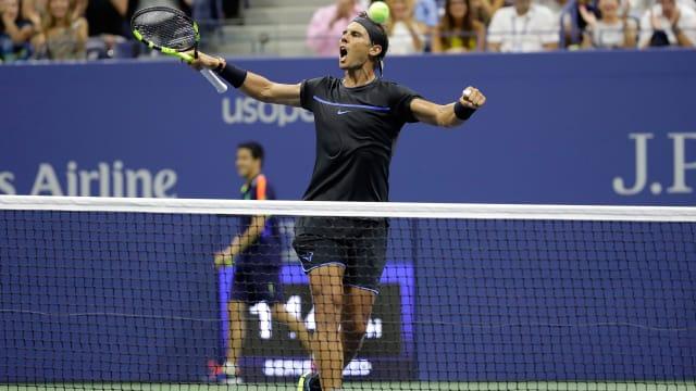 Finally in full match, Djokovic wins at Open despite elbow