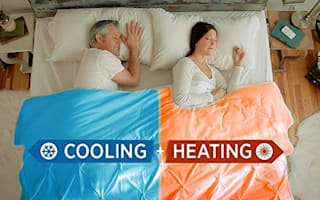 Could this dual-temperature blanket save your relationship?