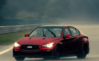​Infiniti Q50 Eau Rouge meets its namesake at Spa-Francorchamps