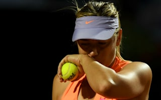 Injury added to insult as Sharapova retires in Rome
