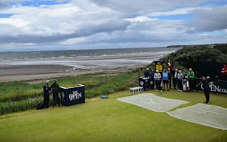 Montgomerie tees off 145th Open Championship