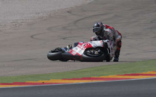 'He doesn't have a f****** brain' - Redding fumes at team-mate Petrucci after crash