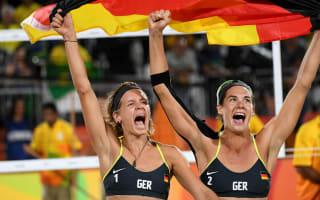 Rio 2016: Germany claim women's beach volleyball gold