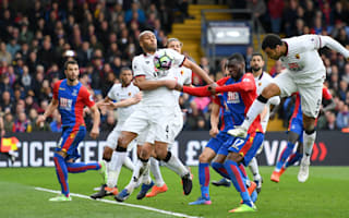 Crystal Palace 1 Watford 0: Resurgent Eagles make it three on the bounce thanks to Deeney own goal