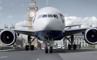 Personalised BA ad lets viewers see plane taxi along their street
