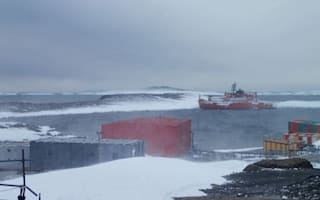 Antarctic explorers rescued after getting stranded on icebreaker ship
