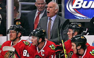 Blackhawks win for Quenneville, Jets triumph in thriller
