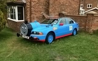 'Thomas the Tank Engine' stopped by police