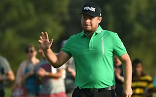 Hatton leads in Abu Dhabi, Johnson surges into contention