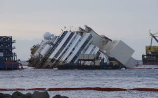 Costa Concordia survivors forced to fly back to Italy