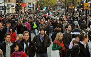 Record numbers hit the high street to take advantage of early sales