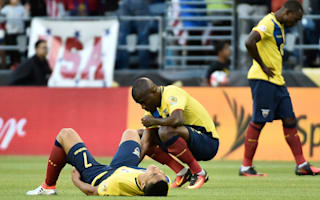 Suarez rues missed chances as Ecuador eliminated from Copa America