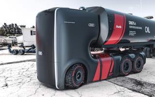Designers reveal stunning autonomous truck concepts