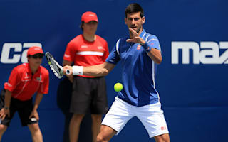 Djokovic back in business in Toronto